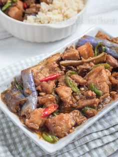 Pork Binagoongan (Binagoongang Baboy) Pork Recipe Pinoy, Pork Recipes, Pinoy Food Filipino Dishes, Filipino Recipes, Healthy Dishes, Veggie Dishes, Pork Belly, No Cook Meals, Kitchens