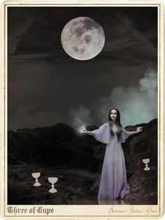 Another cool deck the Moon Child Tarot deck by Danielle Noel