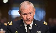 Martin Dempsey condemns intervention in Syria... Basically. This move comes as a result of John McCain blocking his reconfirmation congress unless he breaks it down for congress     7/23/13