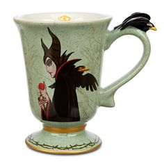 Maleficent and Diablo have prepared your morning coffee...do you dare drink it...? MALEFICENT & DIABLO COFFEE MUG #Disney