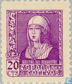 Spain [ESP] - Queen Isabelle 1938