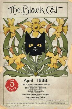 The Black Cat magazine, April 1898.