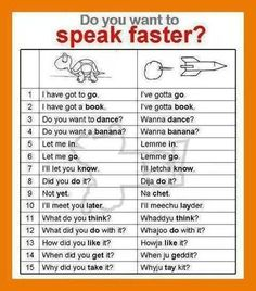 Tech Discover Do you Want to Speak Faster - Speaking - English Learn Site Learn English Words English Vocabulary Words Learn English Grammar English Phrases English Idioms English Language Learning English Study English Lessons Teaching English English Learning Spoken, Teaching English Grammar, English Writing Skills, English Vocabulary Words, Learn English Words, English Language Learning, English Study, Learn English Speaking, English Grammar Notes
