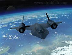 Lockheed SR-71 Blackbird.Classic Car Art&Design @classic_car_art #ClassicCarArtDesign