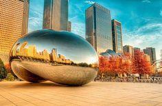The Bean at Millennium Park, Chicago, IL
