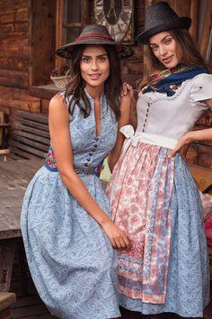 Kleider - Deep Blue - sportalm.at | Sportalm Dirndl Dress, Dress Up, My Wardrobe, Vintage Dresses, Outfits, Clothes, German, Deep, Fashion