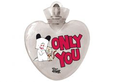"""HELLO SPANK BORSA ACQUA CALDA ONLY YOU  Per riscaldare il tuo cuore Borsa dell'acqua calda Hello Spank love in plastica di colore bianco trasparente con dedica """"ONLY YOU"""""""