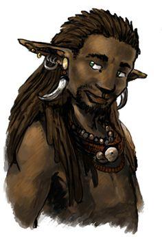 Black elf by ~Keaze on deviantART