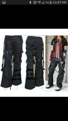 Junker / bondage pants,  GIMMIE GIMMIE