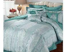 Highgate Manor Vienna 20piece Comforter Set - Blush (Full) #HighgateManor Blue Comforter Sets, King Comforter Sets, Duvet Bedding, Bedroom Bed, Dream Bedroom, Bed Room, Elegant Bedroom Design, Frozen Room, Blush