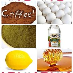 Ingredients:- Henna (according to your hair length? Olive oil- 2 full spoon White vinegar- 2 full spoon Coffee powder- 2 table spoon Egg white- 2 Honey- 1 full spoon Water (if required)  Steps:- 1. Mix all the above mentioned ingredients to make a smooth paste. 2. Leave the mixture for an hour. 3. Then apply on your hair and scalp evenly. 4. Leave it for 3 hours. 5. Wash it with a mild shampoo.