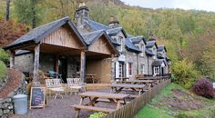 Glenlyon Tearoom Wine Making, Scotland, Remote, Cottage, Traditional, House Styles, Genealogy, Places, Cottages