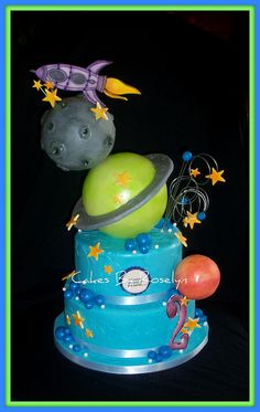 outer space by Cakes By Roselyn, via Flickr