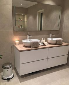 notitle Dörte Lorenzen Dörte Lorenzen notitle Dört – rustic home diy Bad Inspiration, Bathroom Inspiration, Modern Bathroom Design, Bathroom Interior Design, Ideas Baños, Toilette Design, Bathroom Organisation, Bathroom Renovations, Amazing Bathrooms