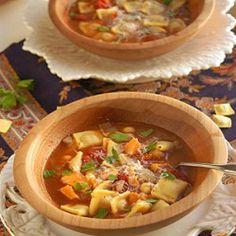Homemade Ravioli Soup