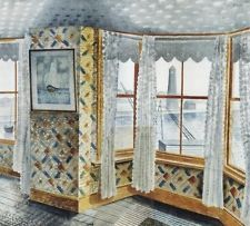 Room at the William the Conqueror by Eric Ravilious 1938 Rye Harbour, Sussex. William The Conqueror, Wood Engraving, Room Paint, Illustrators, Book Art, Original Artwork, Illustration Art, Art Prints, Drawings