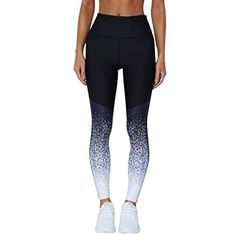 Suzul_Jeans Serzul Women Sports Yoga Workout High Waist Tummy Control Running Pants Fitness Elastic Leggings >>> Learn more by visiting the image link. (This is an affiliate link) Yoga Leggings, Leggings Are Not Pants, Women's Leggings, Women's Tights, Ombre Leggings, Women's Sports Trousers, Yoga Trousers, Legging Sport, Sport Pants
