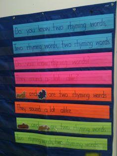 crazy for kindergarten: Making Time To Rhyme In Kindergarten