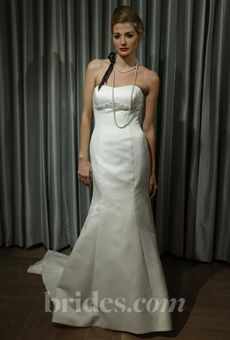 """Alyne """"Celia"""" gown on Brides.com from the """"Sip & Pin"""" event!"""