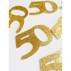 Jumbo Gold Birthday or Anniversary by PartyPerfectBoutique, 50th birthday, 40th birthday, gold birthday confetti, etsy