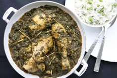 Palak Murgh (Spinach Chicken Curry)