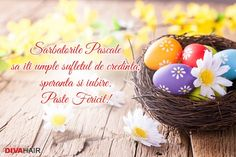 Sarbatoreste cu persoanele apropiate si ureaza-le cele mai bune ganduri, trimitandu-le aceasta felicitare de Paste! Girl Arm Tattoos, Easter Holidays, Egg Decorating, Holidays And Events, Happy Easter, Pink Flowers, Diy And Crafts, Wedding Photography, Floral