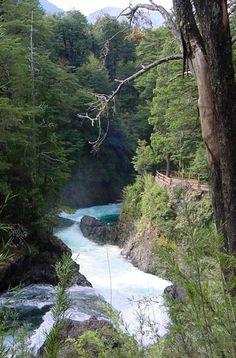 Cascada los Alerces  -  San Carlos de Bariloche