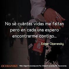 Espero encontrarme contigo! / Edgar Oceransky