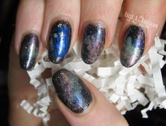 LOTMN #DoctorWho galaxy #nailart