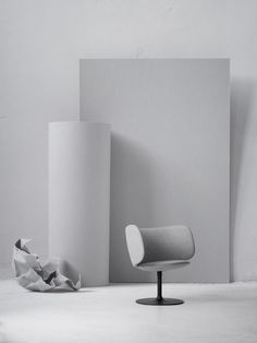 Stella by Busk+Hertzog for +Halle. An elegant and refined lounge chair, offering generous support whilst creating a unique aesthetic.