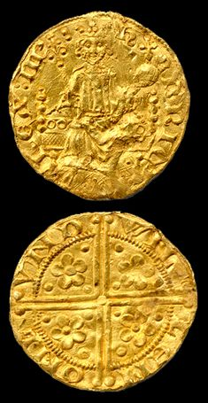 Two of Gold => English gold penny of King Henry III - only around 8 exist and these are worth over $ 100,000 each.