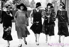 Женская мода 20 х годов фото