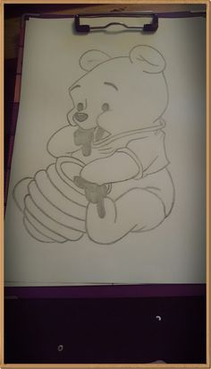 Winnie pooh – Winnie pooh – The post Winnie Pooh – appeared first on Frisuren Tips - People Drawing Disney Drawings Sketches, Cute Disney Drawings, Art Drawings Sketches Simple, Pencil Art Drawings, Animal Drawings, Easy Drawings, Drawing Disney, Drawing Art, Drawing Tips