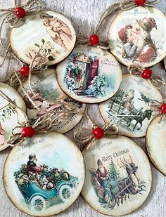 1 million+ Stunning Free Images to Use Anywhere Victorian Christmas, Christmas Wood, Christmas Balls, Christmas Projects, Christmas Tree Ornaments, Vintage Christmas, Christmas Decorations, Christmas Decoupage, Christmas Tree Painting