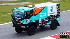 Dakar rally truck van De Rooy tijdens #GammaRacingDay in Assen