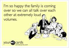 yep... love my loud and crazy family!