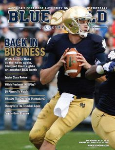JUST 4 DAYS UNTIL KICKOFF! Get ready for the game with the BGI Preseason issue, just $3.50 for the digital edition at http://comanpub.uberflip.com/i/159744  This special edition includes the latest news and developments surrounding the Fighting Irish football program on the eve of the 2013 season and a comprehensive preview of the season opener against Temple.
