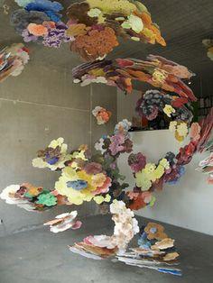 """Saatchi Online Artist Joris  Kuipers; Installation, """"Völlig Losgelöst (Escaping expressionism)"""" #art"""