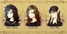 Bellatrix Lestrange & Andromeda Tonks & Narcissa Malfoy. Sisters.