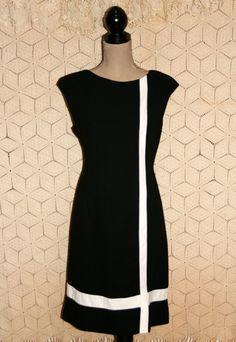 Black Dress Sleeveless Dress Midi Dress Fitted by MagpieandOtis