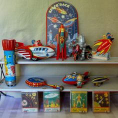 Space Toy Collection