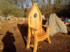 storytellers chair by  Ian Freemantle