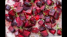 Oven roasted beets are incredibly easy to prepare and the whole family will love them! This simple recipe takes bland to delicious and everyone is a beet lover after they try it! # savoury Baking Oven Roasted Beets with Balsamic Glaze Vegetable Recipes, Vegetarian Recipes, Cooking Recipes, Healthy Recipes, Recipes For Beets, Beetroot Recipes Salad, Beet Recipes Healthy, Potato Recipes, Vegetarian Cooking