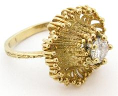 ANDREW GRIMA, 18k Gold and Diamond Ring, circa 1970 image 2