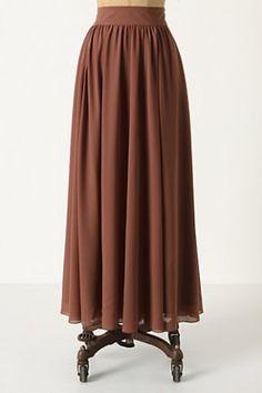 pretty maxi skirt