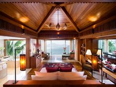Loving the log home style