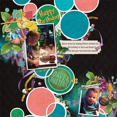 Title: 2017-03-30 HunterTurns2 Kit/Link: jcd-daisydelight-bundle, http://www.pickleberrypop.com/shop/product.php?productid=50284 Kit/Link: hsa_mixitup7, https://www.pickleberrypop.com/shop/product.php?productid=50277&page=1 Kit/Link: JSD_SillyShen (happy birthday&date), https://www.pickleberrypop.com/shop/product.php?productid=45331&page=1 keywords: jocee designs, heartstrings scrap art, template, birthday, games, cake, black, pink, blue, green, yellow font: circus  program: GIMP