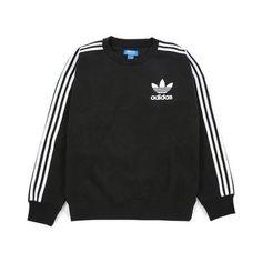 felpe adidas originals adc fashion crewneck black