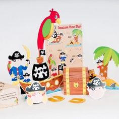 Pirate Treasure Hunt Game - Pirate Party Games - Games & Activities - Kids' Party