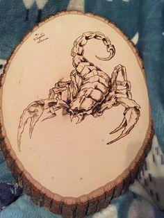 картинки для выжигания по дереву скорпион меня тут